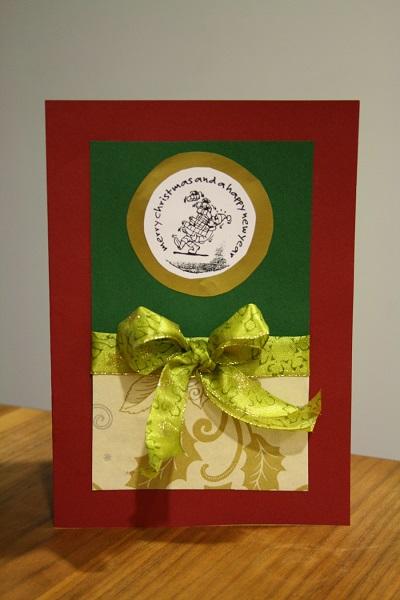 Gebastelte Weihnachtskarten.Kreative Weihnachtskarten Stempeln Anleitung Mit Fotos